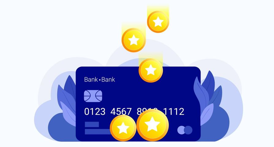 Credit Card with Star Points