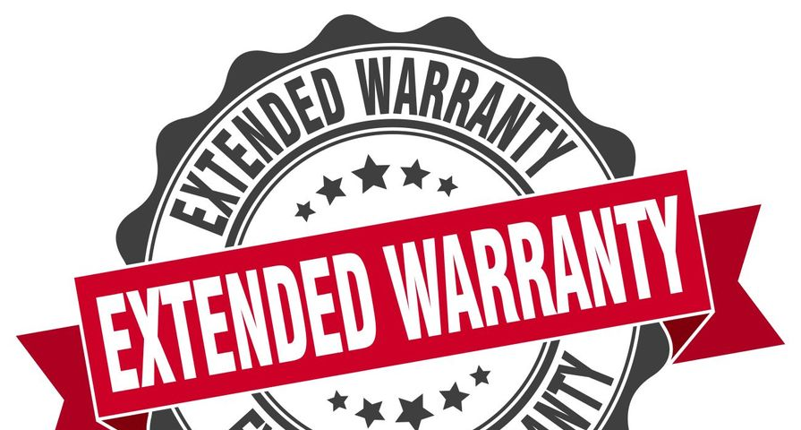 Extended Warranty Label
