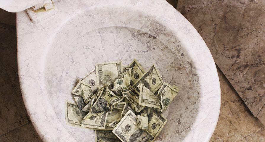 Cash Filling Toilet