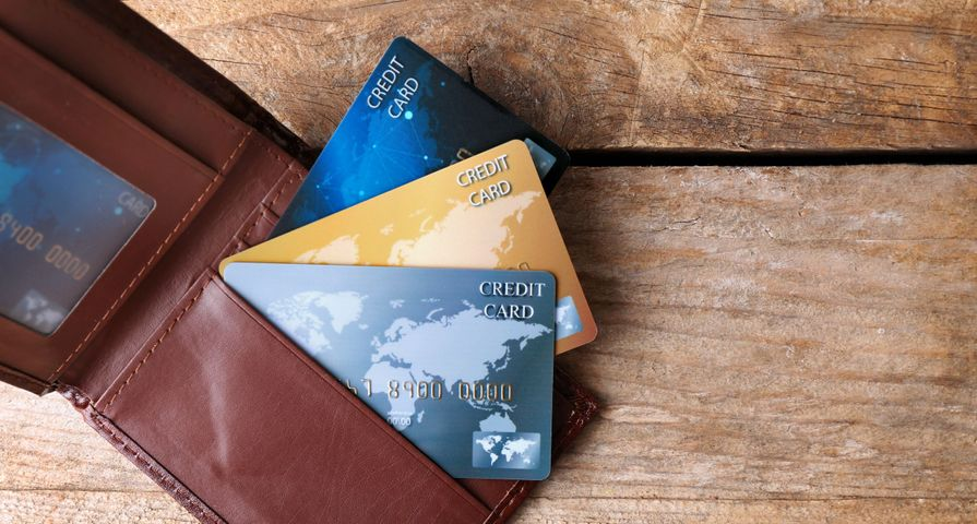 Wallet with Credit Card in it