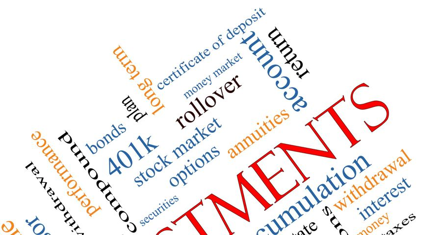 Investing Terms Word Cloud