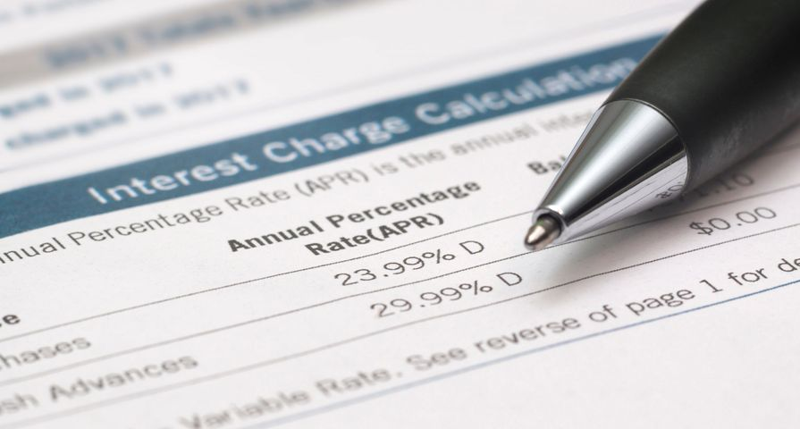 Annual Percentage Rate Document