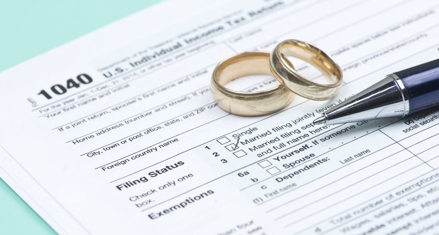 Marriage Rings on Tax Form