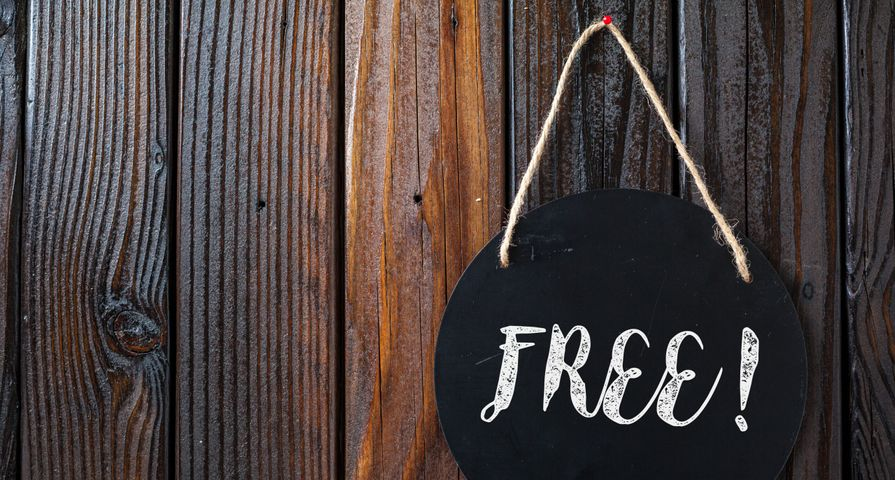 Free Hanging Chalkboard Sign
