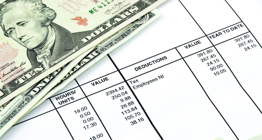Cash on Tax Statement