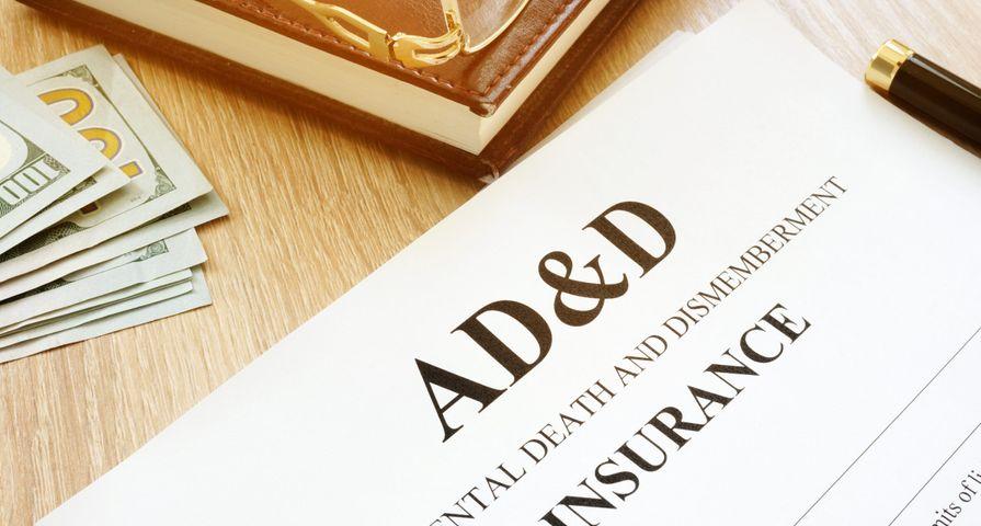 AD&D Insurance Paperwork